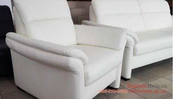Набор кожаной мебели 3 + 2 + 1