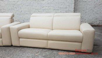 Набор кожаных диванов 3р+3 реклайнер